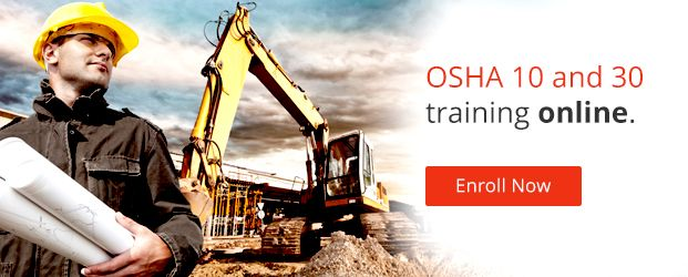 OSHA 10 and 30 Training Online