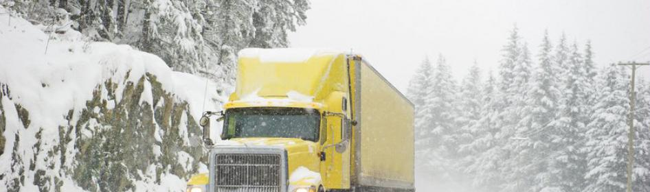 Winter Driving Tips for Commercial Truckers