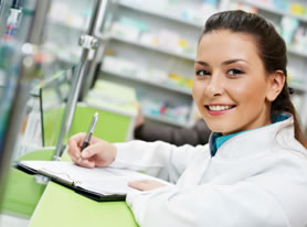 Medical and Fitness Careers Retail Pharmacy Technician with Customer Service Representative (CPhT)