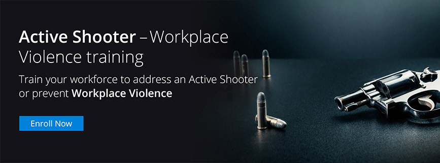 Active Shooter Workplace Violence training