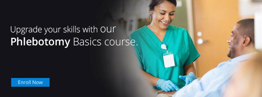 our Phlebotomy Basics course