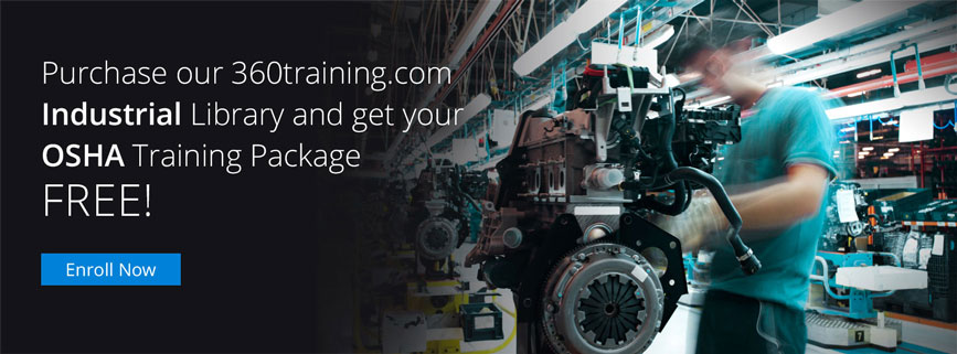 Industrial Library and get your OSHA Training Package FREE!