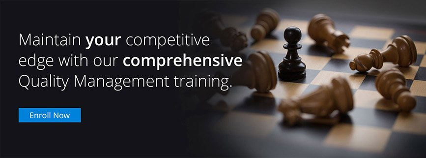 our comprehensive Quality Management train