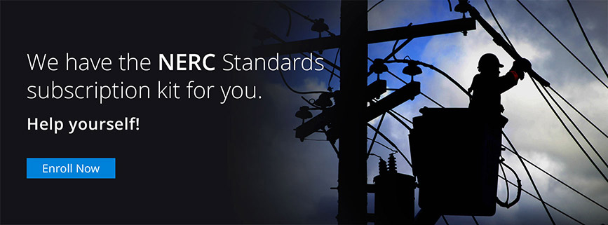 NERC Standards subscription kit