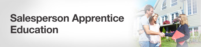 Salesperson Apprentice Education