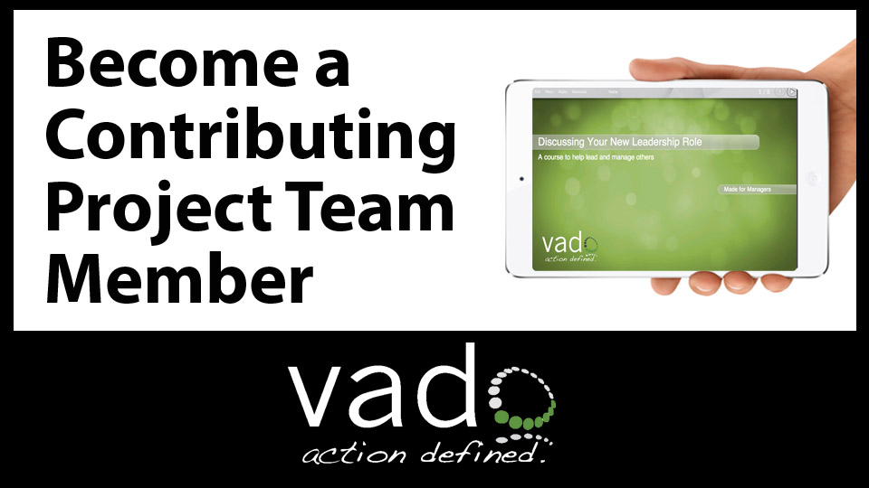Become a Contributing Project Team Member
