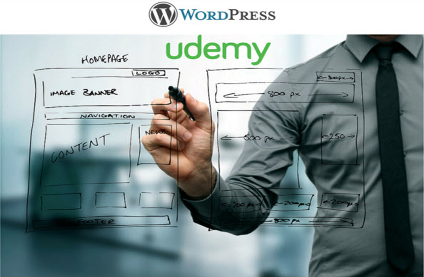 Udemy Marketing Design a WordPress Website to Sell Courses