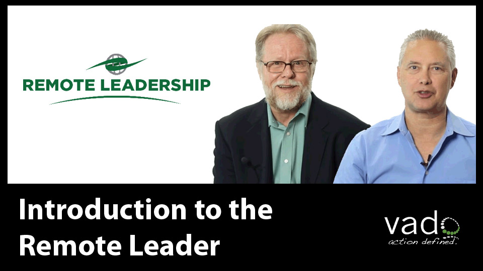 Management Leadership Introduction to the Remote Leader