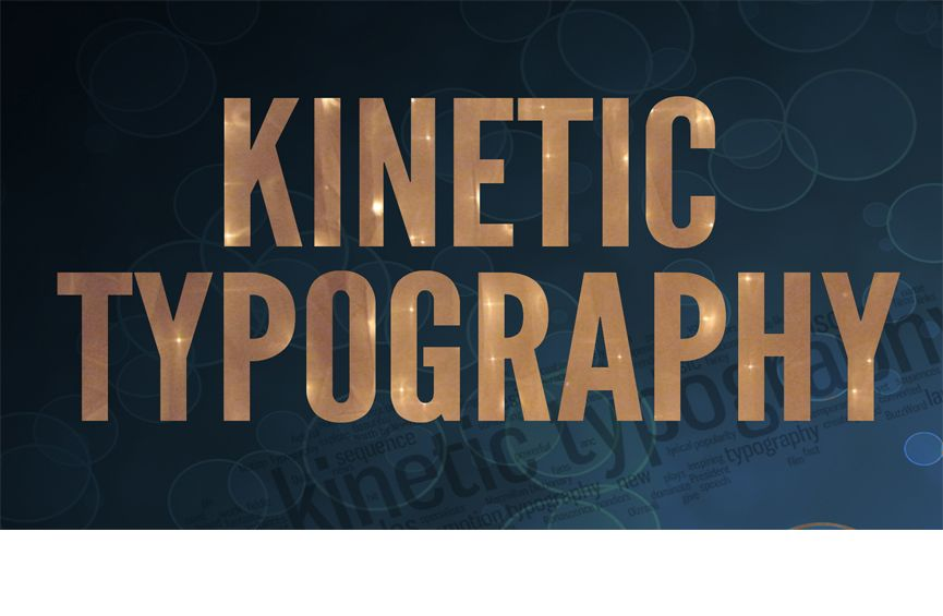 Kinetic Typography Make Engaging Motion Graphics Videos Now