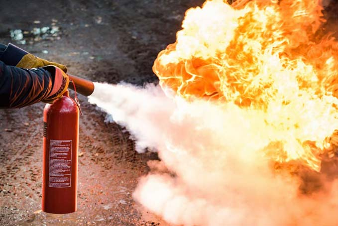 DOT Training Fire Extinguisher Safety