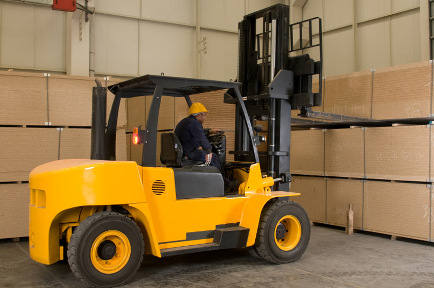 Construction Safety Training Sit-down Forklift