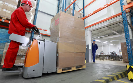 Stand-up Forklift
