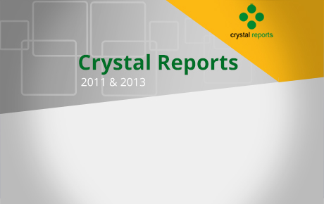 Advanced Crystal Reports 2011 and 2013 (CR13L02)