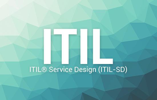 ITIL ITIL® Service Design (ITIL-SD)