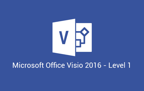 Microsoft Office Visio 2016 - Level 1 (Visio2016-L1)