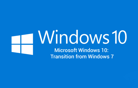 Microsoft Operating Systems Microsoft Windows 10: Transition from Windows 7 (091037) (Win10_Trans)