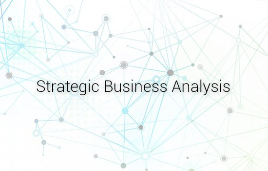 Business Analysis Strategic Business Analysis (BA02-RF)