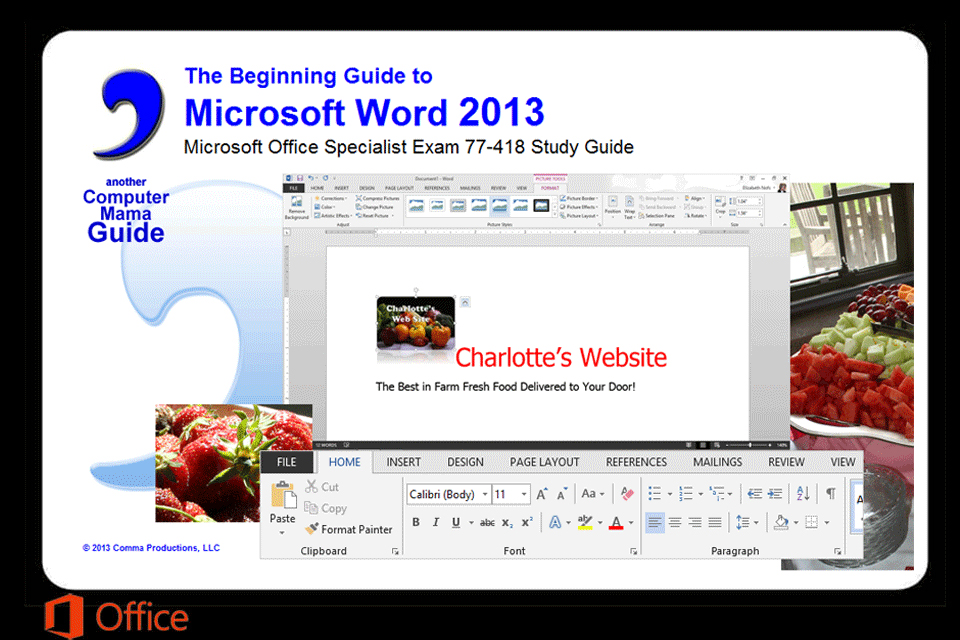 COMMA: Beginning Guide to Microsoft Word 2013