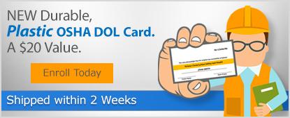 Plastic DOL card