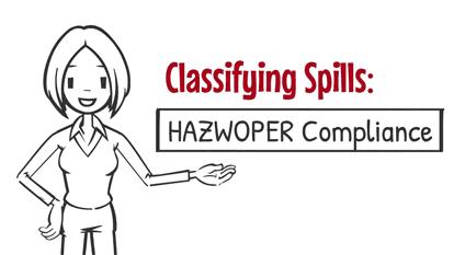 Classifying Spills HAZWOPER Compliance