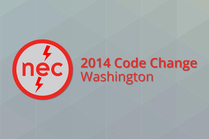 Washington NEC 2014 Code Change (4 Hr) - Washington